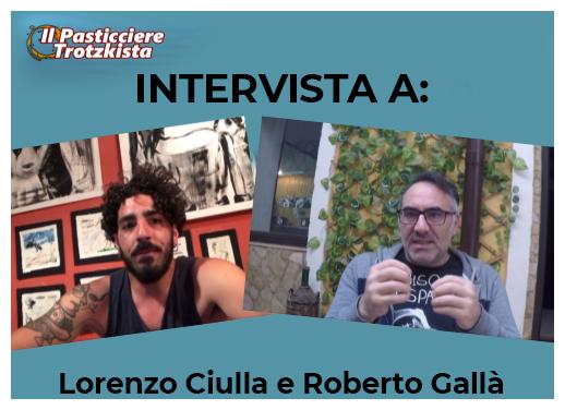 intervista roberto gallà lorenzo ciulla